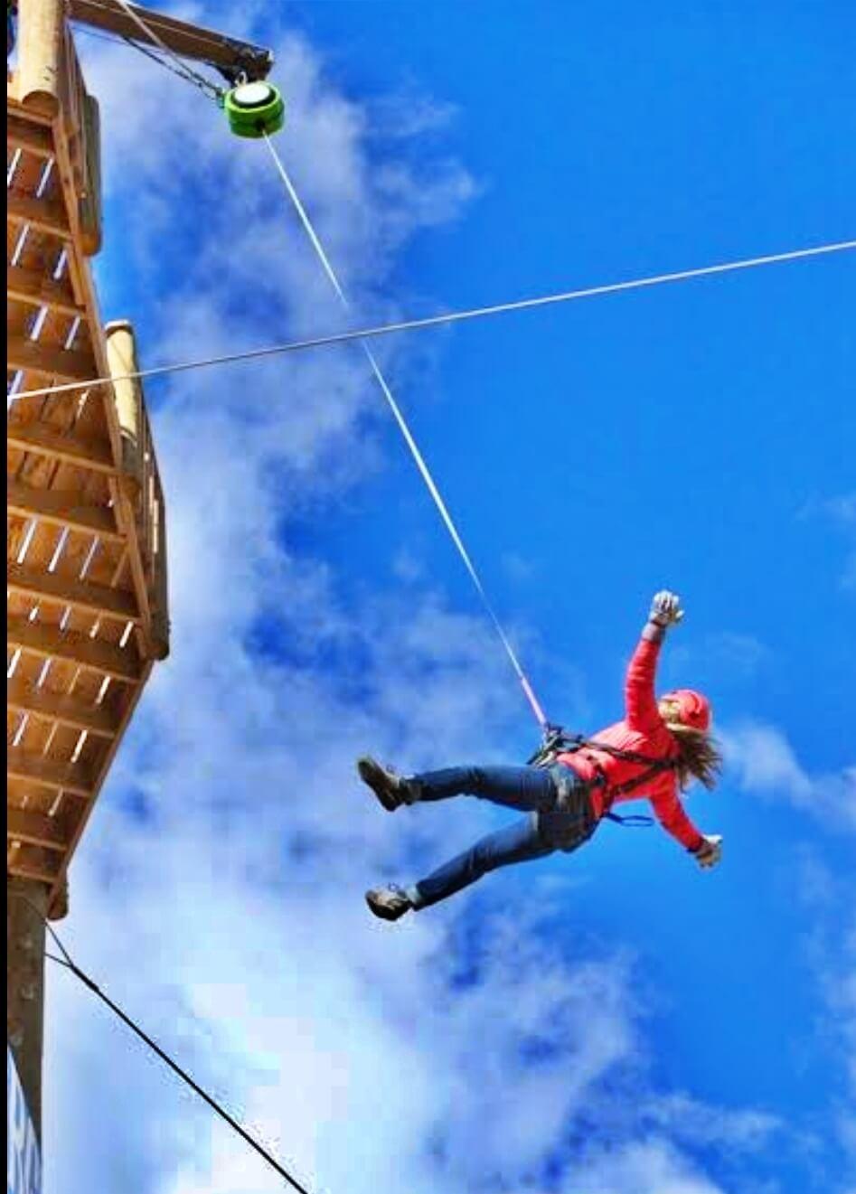 Jumping Activities at Mussoorie Adventure Resort