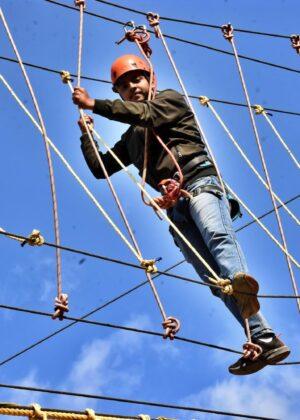 Rope Course Activities Mussoorie Adventure Resort