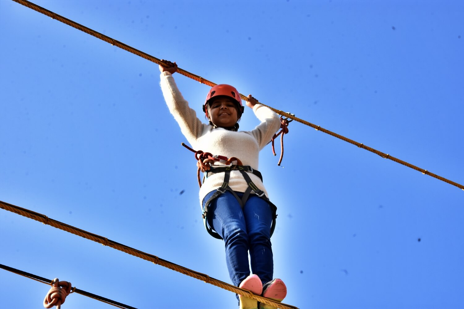 Rope Course Activities at Mussoorie