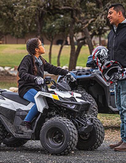Youth ATV rides