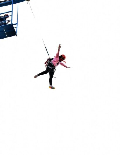 free fall jumping activity in mussoorie