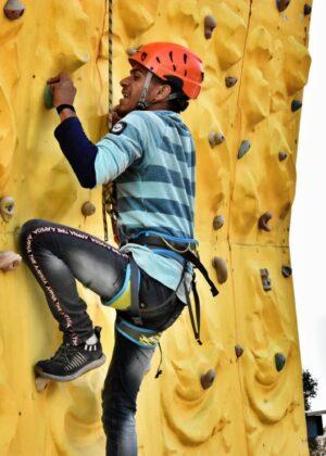 Wall Climbing Activities Mussoorie Adventure Resort
